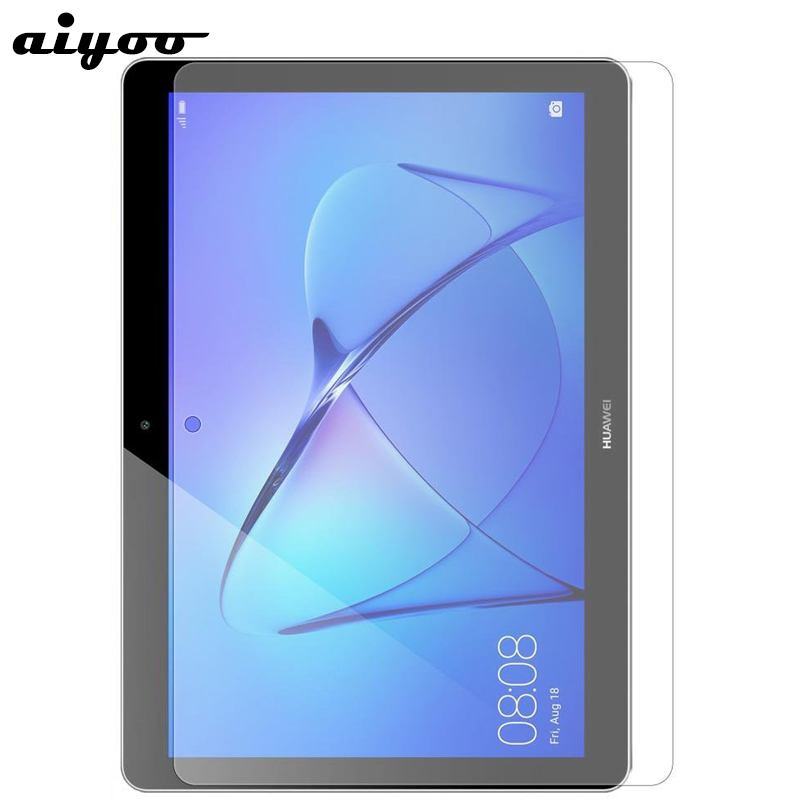 Aiyoo Tempered Glass For Huawei MediaPad T3 10 9.6 AGS-L09 AGS-L03 AGS-W09 Screen Protector Glass Film For Honor Play Pad 2 9.6