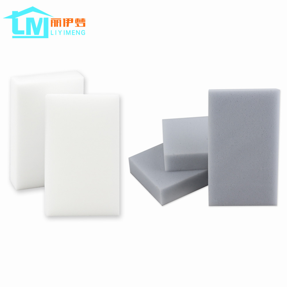 LIYIMENG 100 pcs Melamine Sponge Magic Sponge Eraser For Kitchen Office Bathroom Clean Accessory/Dish Cleaning Nano 100*60*20mm aihogard 20pcs melamine sponge magic sponge eraser kitchen duster wipes home kitchen clean accessory nano sponge 10x6x2cm