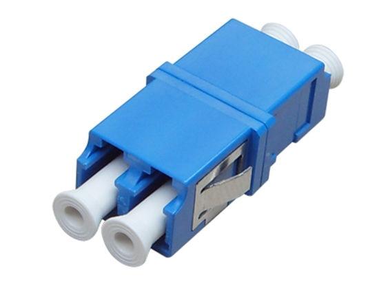 LC-Upc-LC-Upc-Single-Mode-Duplex-Fiber-Optic-Adapter