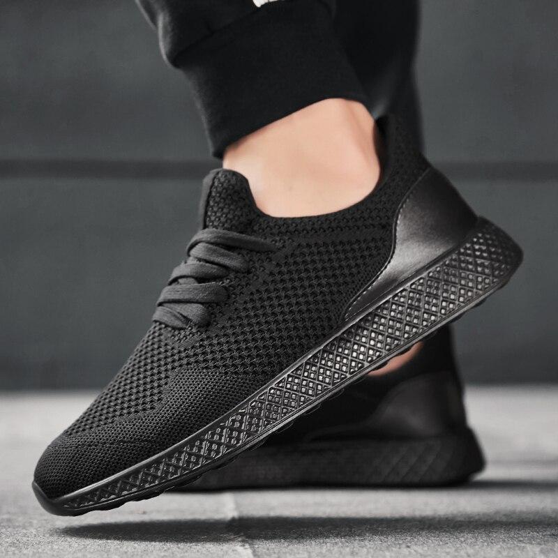 2020 printemps hommes baskets chaussures décontractées hommes léger maille respirant décontracté Sport chaussures Jogging marche baskets grande taille 48