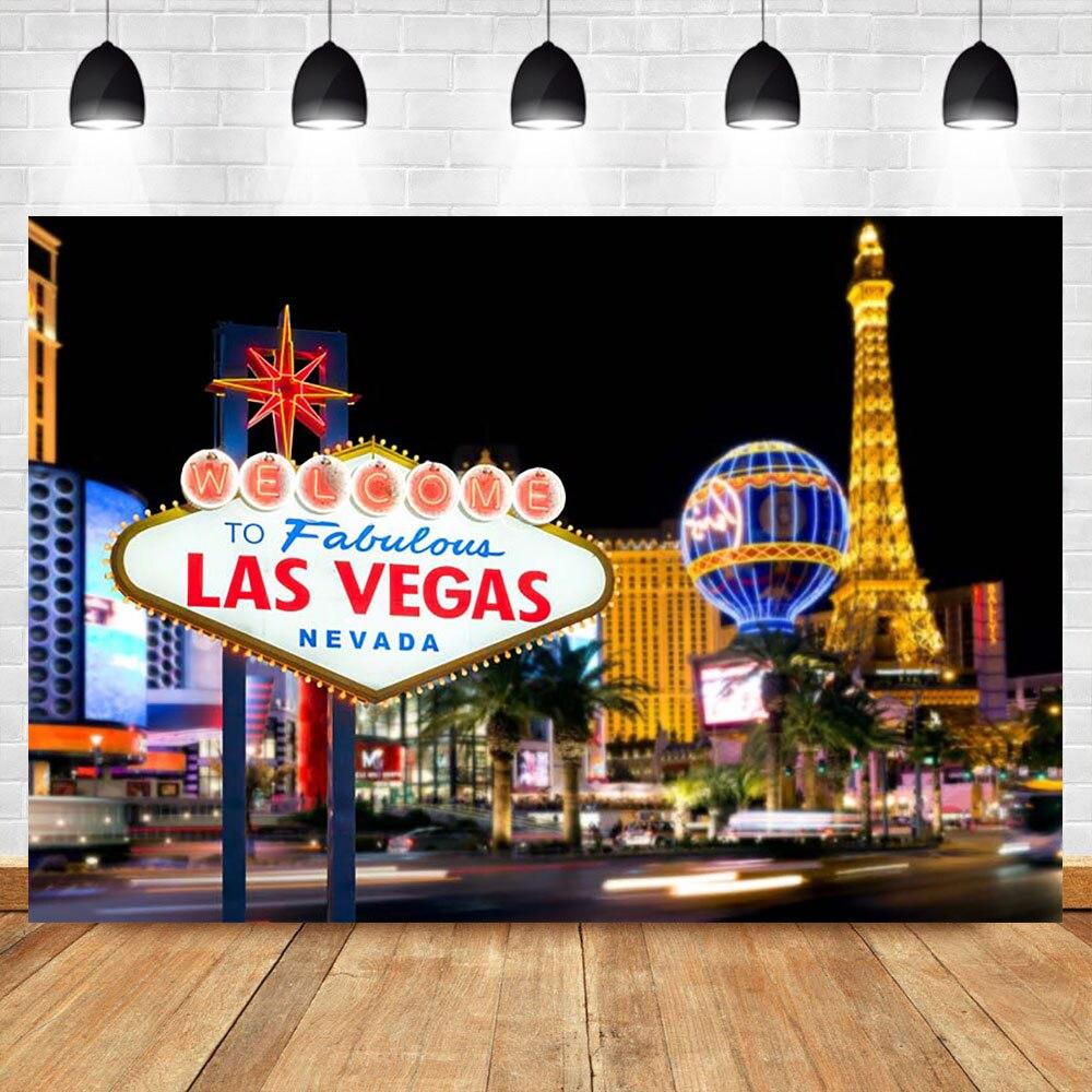 Mehofoto Photo Background Las Vegas card fabulous party Photography Backdrops Studio Shoots decor printed custom Photo Backdrops in Background from Consumer Electronics