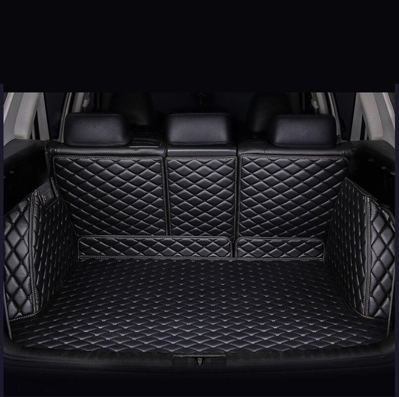 HeXinYan Custom car trunk mat for Cadillac all models SRX CT6 ATSL XT5 XTS auto accessories car styling
