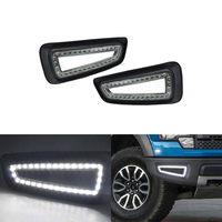 CAN bus Led Front Bumper DRL Daytime Running Light For Ford F150 Raptor SVT 2010 2011 2012 2013 2014 Xenon White Fog Lamp