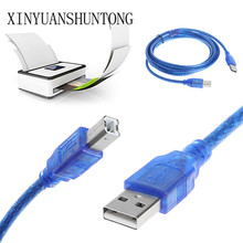 1.5/3/5m Digital Cable USB 2.0 A To B Male Adapter Data Cable Cord For Epson Canon HP Printer Scanner Computer Dropship
