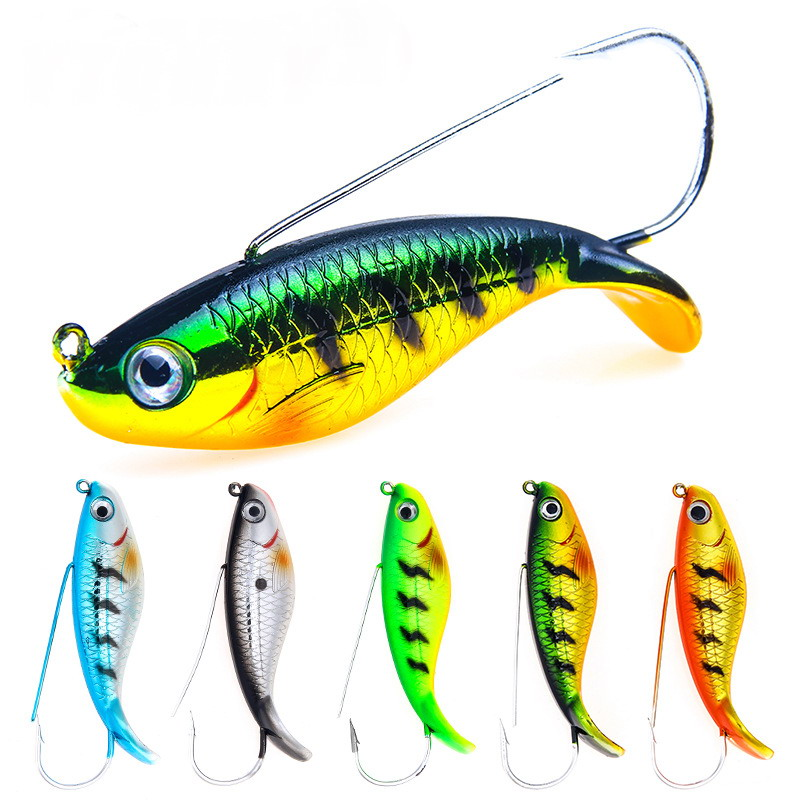 1 PCS 85mm 21.2g Anti Grass Fishing Wobblers Artificial Hard Bait Laser Body Lifelike Fish Bass Pike Carp Fishing Lure