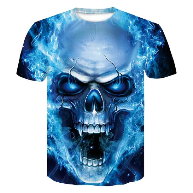 3D T Shirt Shirts Male 3D Print Superhero Superman punisher Crossfit Anime T-Shirts