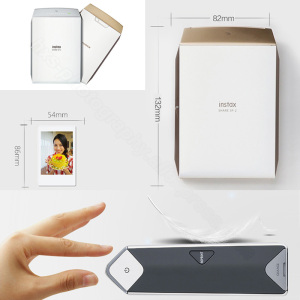 Image 3 - Fujifilm Instax Share Smartphone Printer SP 2, Two Colors Silver and Gold + Matched Case Gift