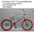 "Excelli MAFIABIKES 20 ""X2.4"" TT 360 GYRO x20.5 Minini Culturas Urbanas Calle BMX Bicicleta BMX V Break 2016 Ciudad Bicicleta Estilo Libre"