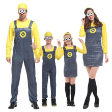 Umorden Movie Despicable Me Cosplay Minion Costume for Child Kids Minions Costumes Men Women Family Yellow Banana Fancy Dress снегокат snow moto minion despicable me yellow 37018