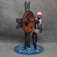 Anime 25CM Fate Grand Order Matthew Kyrielite Mash Kyrielight Shielder 1/7 Scale PVC Figure Model Toy Collectible