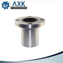 Hot sale 1pc LMF8UU LMF10UU LMF6UU LM12UU LM8LUU LMF12LUU LM16UU 8mm flange linear ball bearing for 8mm linear shaft CNC parts