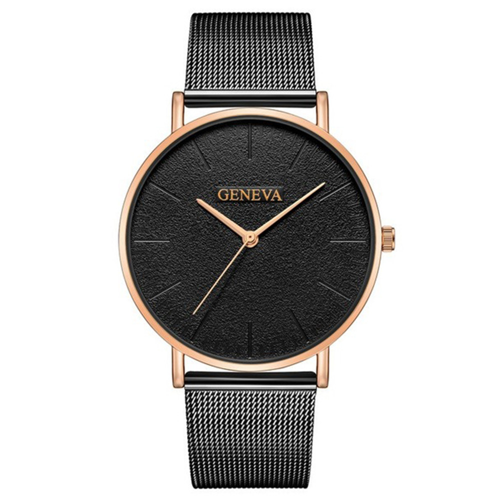 Women 39 s fashion is simple not embroidered with a rigid netted quartz watch student watch wristwatch in Women 39 s Watches from Watches