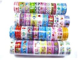 10 pcs/lot 200cm length cartoon adhesive masking tape decorative sealing tape DIY stationery scrap booking sticker WYQ