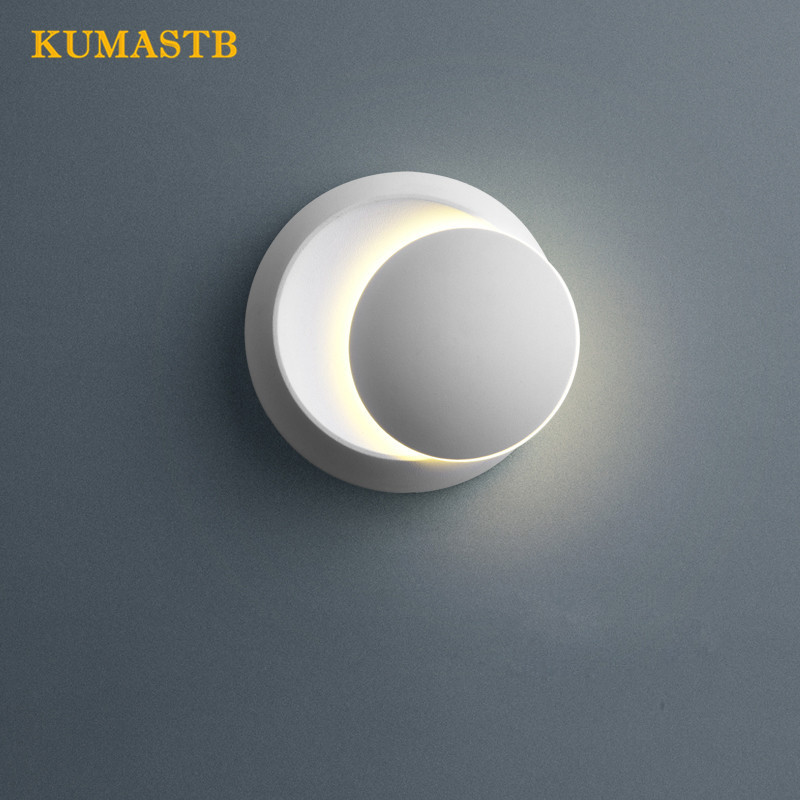 Moon Wall Lamps Nordic Minimalist Bedroom Bedside Light Fixture LED Living Dinning Room Lamp Stairs Corridor Square Wall Light moon flac jeans