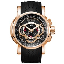 цена на Reef Tiger/RT Designer Sport Watches for Men Rose Gold Quartz Watch with Chronograph and Date RGA3063