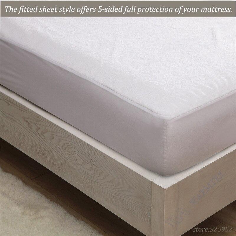 150x200cm Soft fleece cloth 100% Waterproof Mattress Protector/ Mattress Cover Luxury Customized