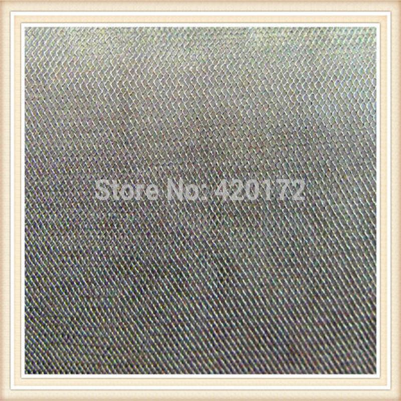Καυτή πώληση 100% ασημί ύφασμα θωρακισμένο ύφασμα / ασημί ίνες αγώγιμο ύφασμα