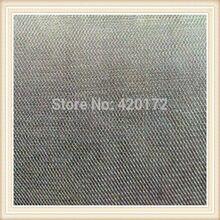 Heißer Verkauf 100% Silber Fasergewebe Abschirmung Stoff/Silber Faser Leitfähigen Stoff