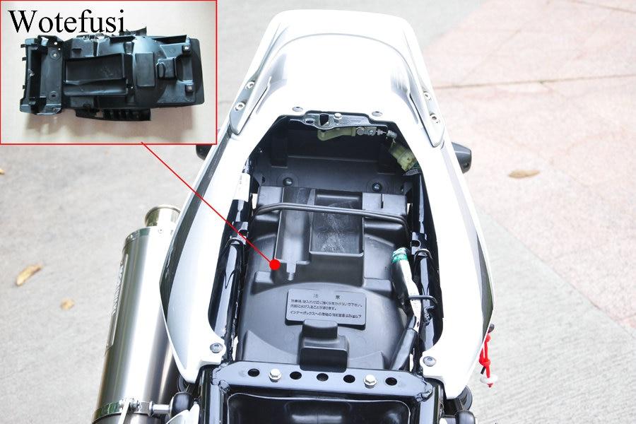 Wotefusi сзади хвост под сиденья лоток база хранения инструмента для Honda Cb400 V-tec 04-13 [zx05]