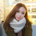 2016 newest Fashion Women Winter Warm Single Circle Knitting Scarf Knit Neck Scarf-J117