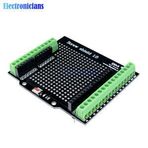 Proto Screw Shield Assembled Prototype Terminal Expansion Board for Arduino Open Source Reset Button D13 LED