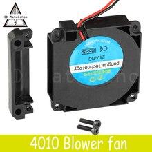 3D Matalchok аксессуары для принтера 12 В 24 в 40*10 мм 4010 40 мм DC турбо вентилятор подшипник воздуходувки Радиальные Вентиляторы Охлаждения Creality CR-10 комплект