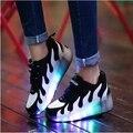 2016 Nuevo Niño Jazzy, Junior Muchachos de Las Muchachas Zapatos Del Patín De Ruedas de Luz LED Para Los Niños Embroma las Zapatillas de deporte Con Ruedas