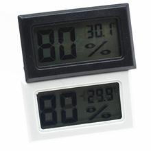 LanLan Mini LCD Digital Thermometer Hygrometer Indoor Portable Temperature Sensor Humidity Instruments