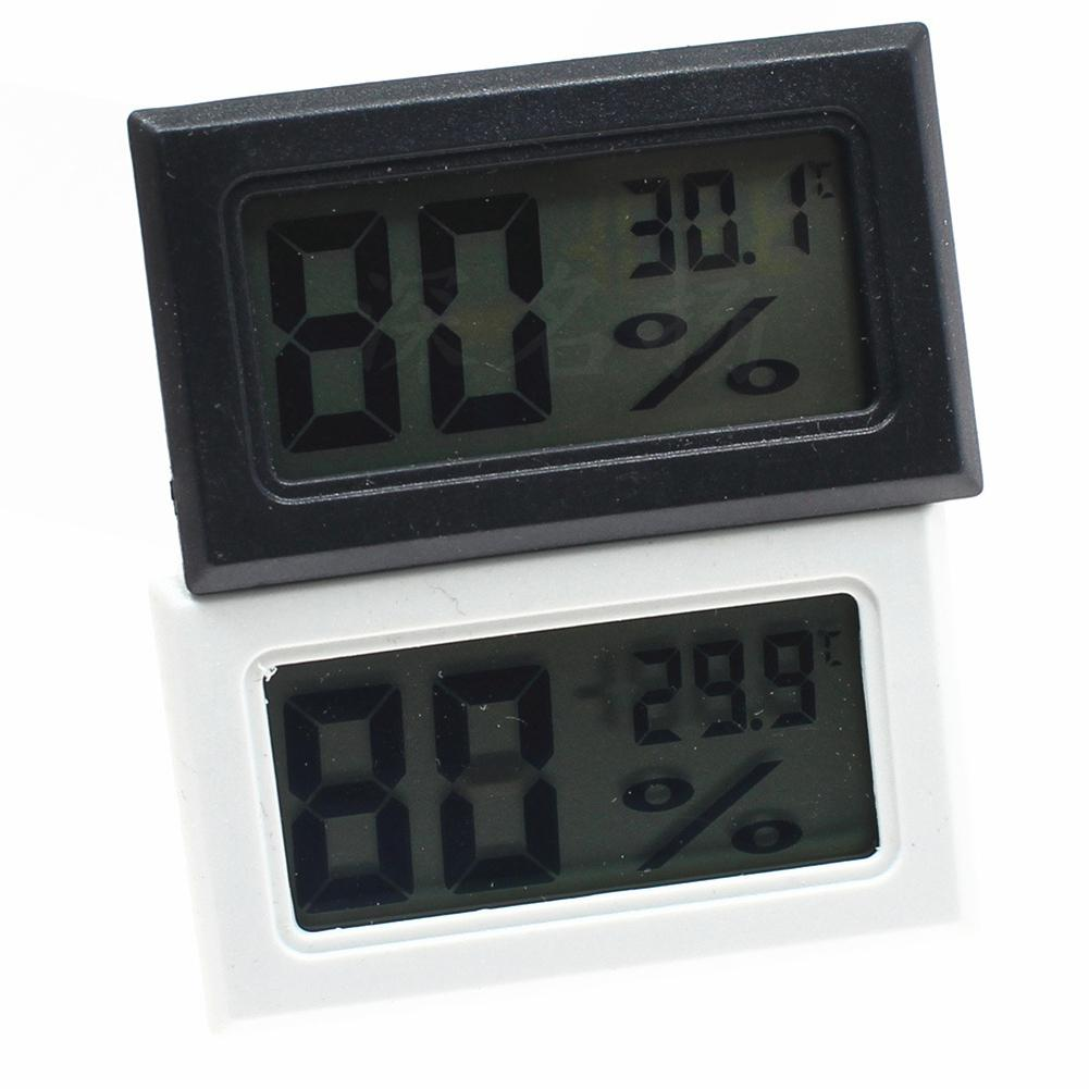 LanLan Mini LCD Digital Thermometer Hygrometer Indoor Portable Temperature Sensor Humidity Instruments