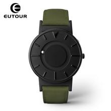 Здесь можно купить  2017 new EUTOUR Magnetic Watch Simple Mens Watches Top Brand Luxury Relogio Masculino fashion leather male quartz Wristwatches   Quartz Wristwatches