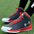 2017 New Men Casual Air Basket High Top Walking Jogging Trainers Sneakers Shoes Lace Up Trainers Zapatos Chaussure EUR Size39-44