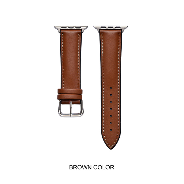 XIYUZHIYI Sport Bracelet for Color Hot Sale Leather Strap Apple Watch Series4/3/2/1  44 mm 42mm40mm38 mm Strap for iwatch 4 Band   Watchbands