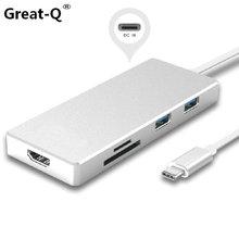 USB 3.1 Type-C USB-C to HDMI & Multiple Dual Ports
