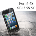 i5 5S SE Redpepper Waterproof Diving Outdoor Photograph Case Cover for iPhone 4 4S Plus with Audio cable