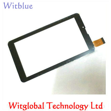 Witblue New For 7 Irbis TZ709 3G / Irbis TZ707 3G Tablet Touch Screen Touch Panel digitizer Glass Sensor Replacement 407292 3 7v 3 8v 4800mah li polymer battery for tablet pc irbis tz56 tz49 3g tz709 tz707 ipaq texet tm 7043xd 407090 u25gt
