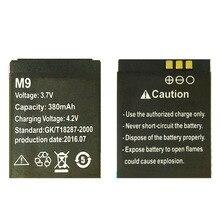 OCTelect M9 بطارية 380mAh ل DZ09 هاتف ساعة ذكية