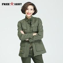 Brand Stand Collar Female Trench Coat Winter Medium-long Outerwear Slim Multi-Po