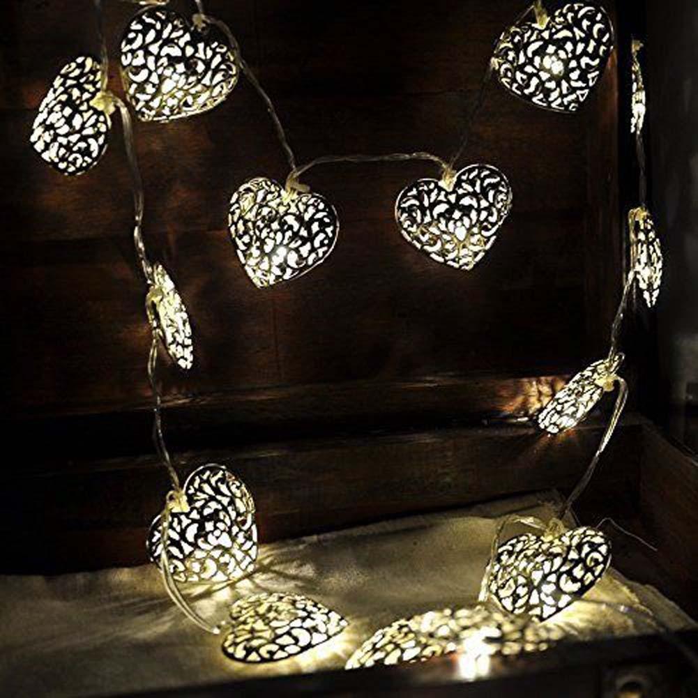 3.6M 12 LED Heart Moroccan Fairy Solar String Lantern Light Lamp Garden  APJ In LED String From Lights U0026 Lighting On Aliexpress.com | Alibaba Group