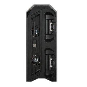 Image 2 - אנכי Stand קירור מאוורר Cooler תחנת טעינה עם 3 HUB עבור Sony פלייסטיישן 4/PS4 פרו
