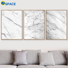 Marble Geometry Line Wall Art Canvas Painting Posters And Prints Nordic Poster Pictures For Living Room Print Decor