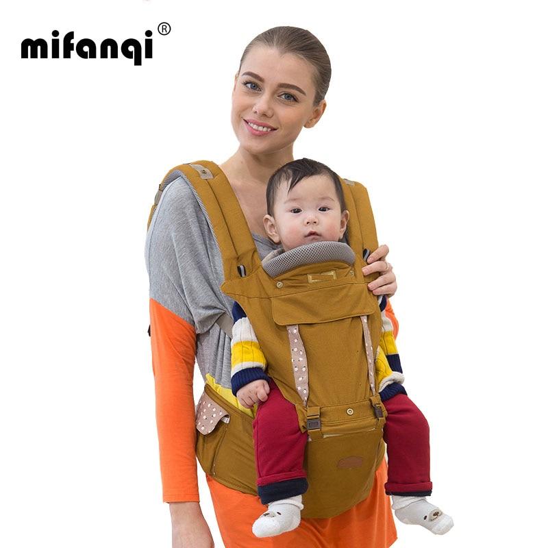 ФОТО Ergonomic Baby Carrier 10-12 Months Infant Insert 20kg Kangaroo Baby Wrap Front Carry Mochila Bebe Cotton Manduca Baby Backpacks