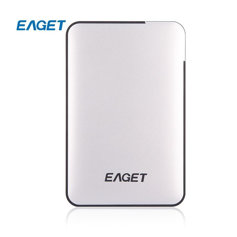 Eaget Official Store Original EAGET G30 2TB 1TB 500GB HDD 2.5 USB 3.0 High-Speed Shockproof External Hard Drives HDD Desktop Laptop Mobile Hard Disk