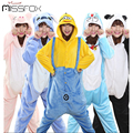 Warm All in One Flannel Anime Pijama Cosplay Warm Easy for Bathroom Adult Unisex Homewear Cute Onesies Animal Pajamas Panda