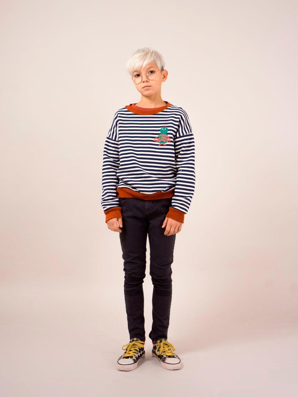 Bobo Choses Autumn Winter Kids Clothes Long Sleeve T-shirt Cartoon Animal Boys Sweatshirts Baby Girls Sports Tees Tops #6