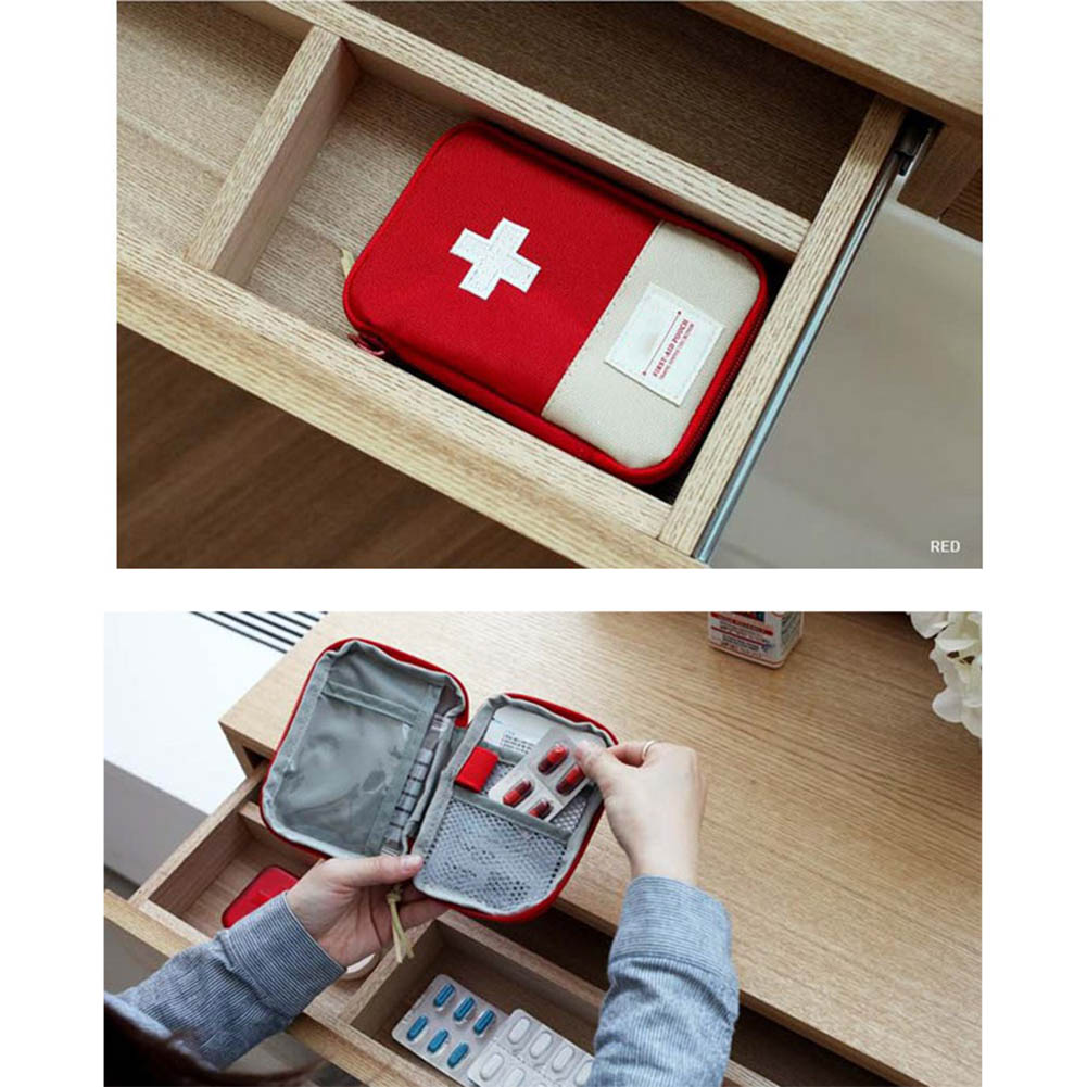 Empty First Aid Bag Emergency Pouch Travel Medicine Pill Storage Bags Outdoor Survival Organizer RJ99