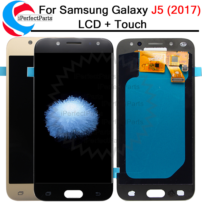 5 2 Amoled LCD For Samsung Galaxy J5 2017 J530 SM J530F J530FN LCD Display Touch