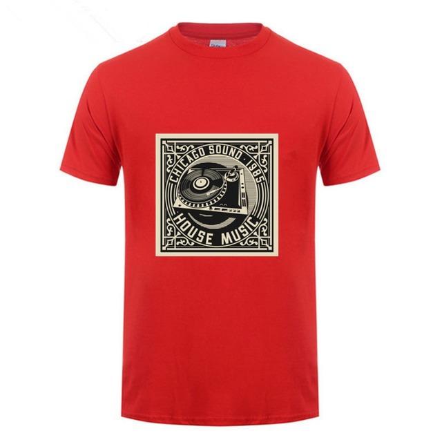 T shirt Vintage disque tourne-disque vinyl