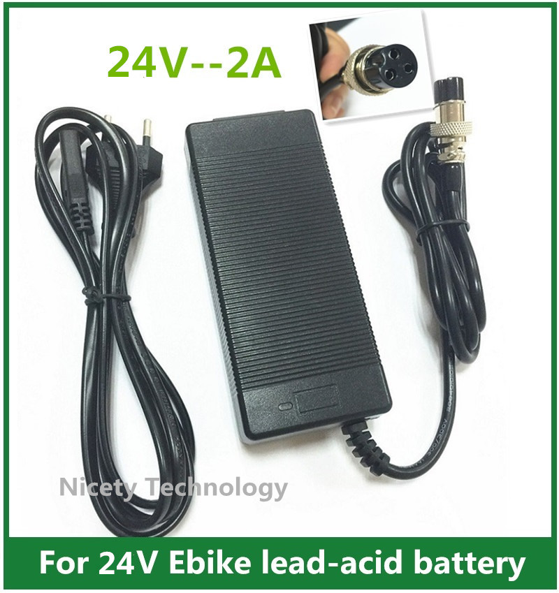 3 Prong Inline Scooter Battery Charger For Razor Ground
