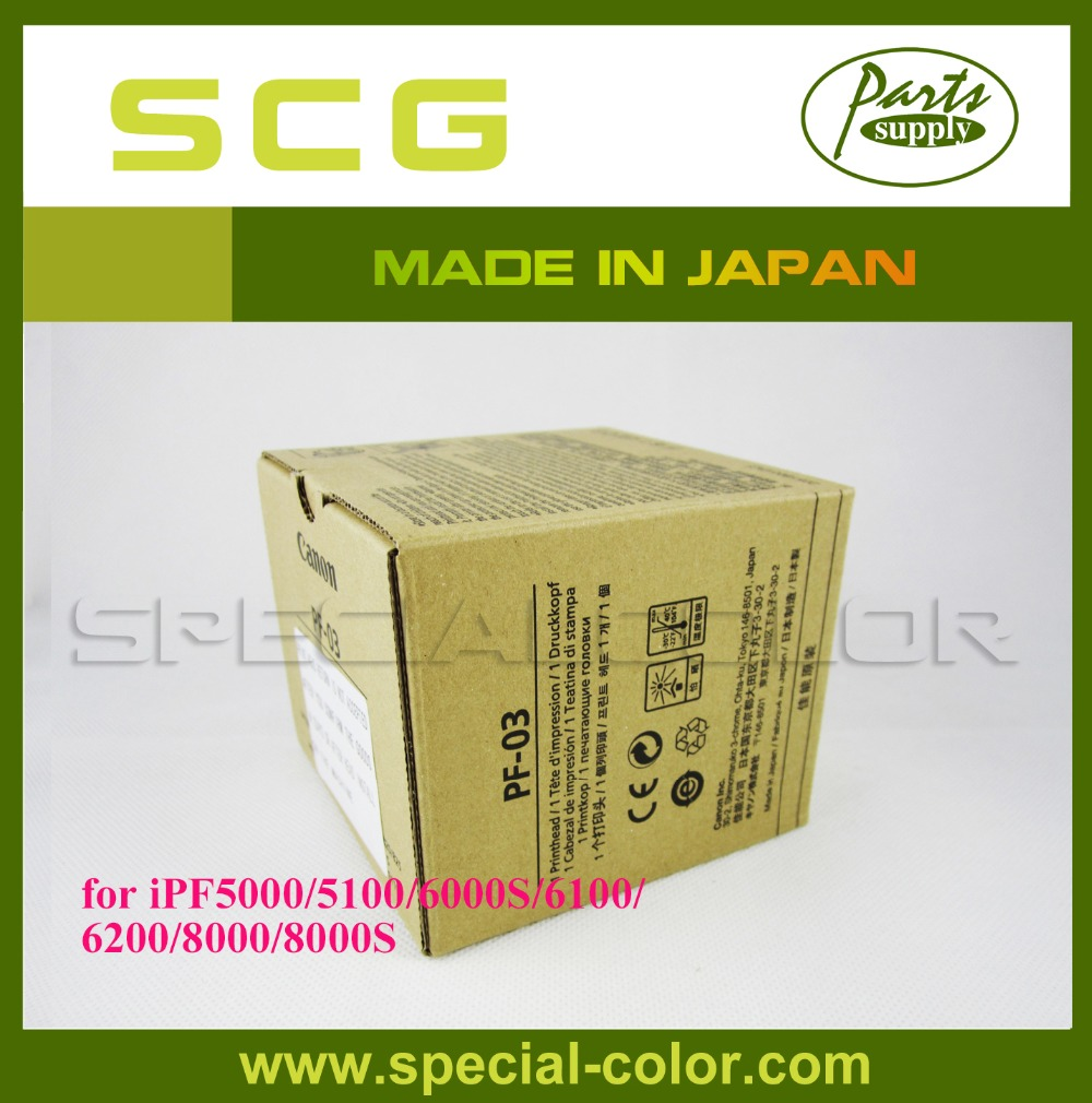100% Made in Japan for Canon iPF5000/5100/6000S/6100/6200/8000/8000S PF-03 Print Head