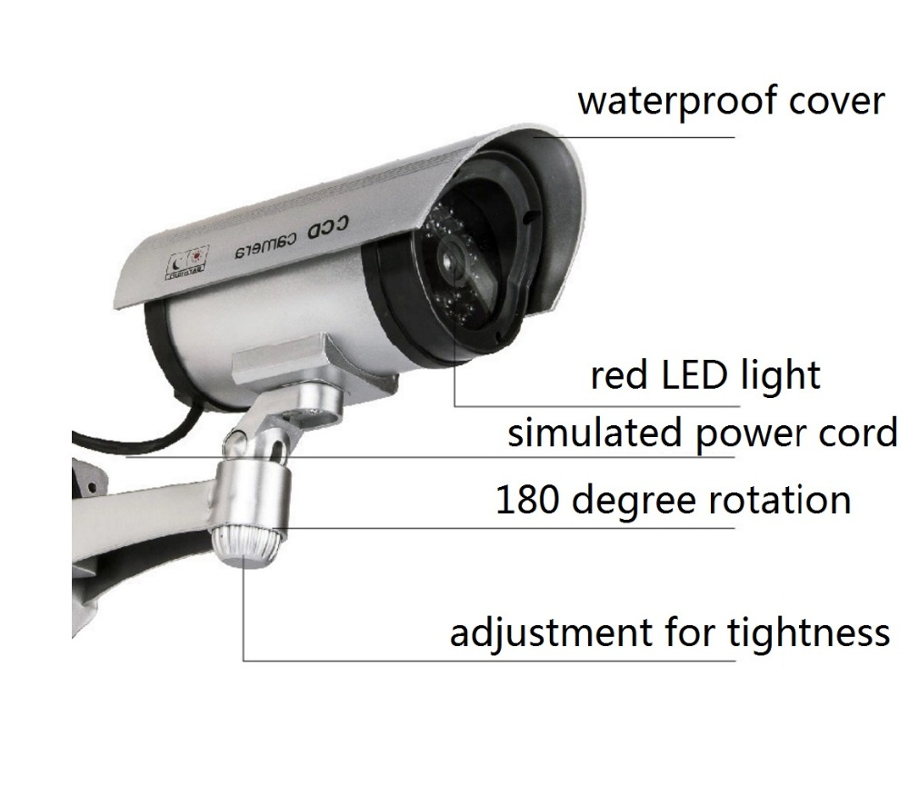 bullet camera silver detial